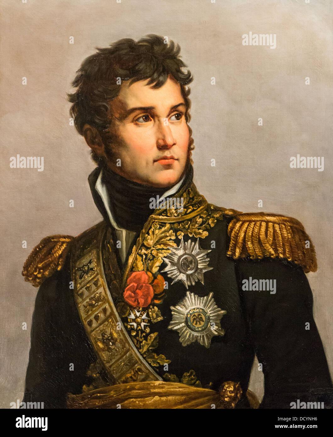 19th century - Jean Lannes, Marshal of the Empire - by Julie Volpelière  - Musée de l'Armée  - Stock Image