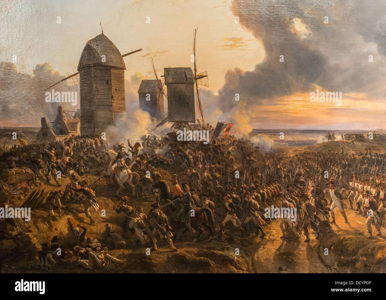 Battle of Mouscron 29 April 1794 - Charles-Louis Mozin - Musée de l'