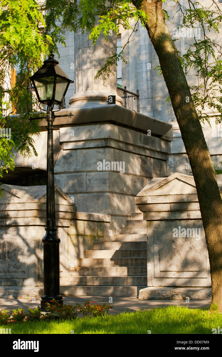 Old Courthouse Building; Montreal, Quebec, Canada - Stock Image