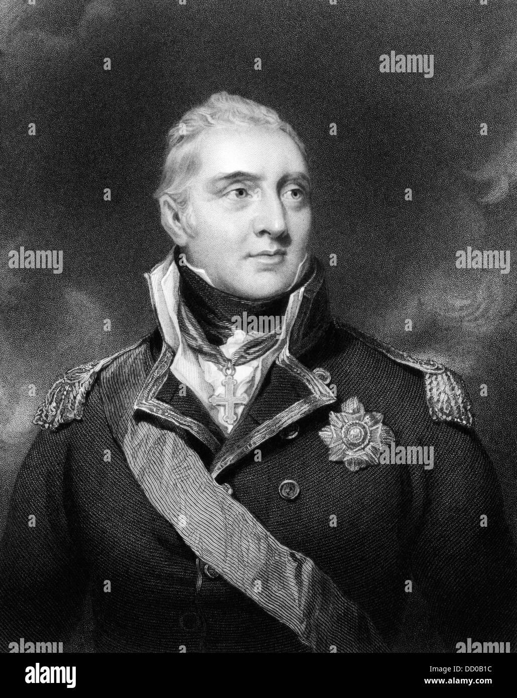 1823 Georgian Print ~ Admiral Lord Viscount Exmouth Art Prints