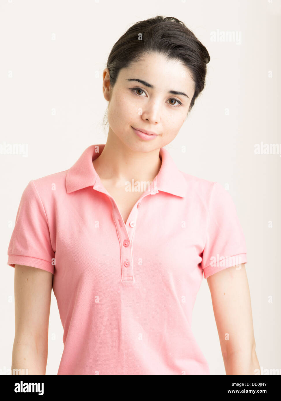 Young Japanese woman in her twenties - Stock Image