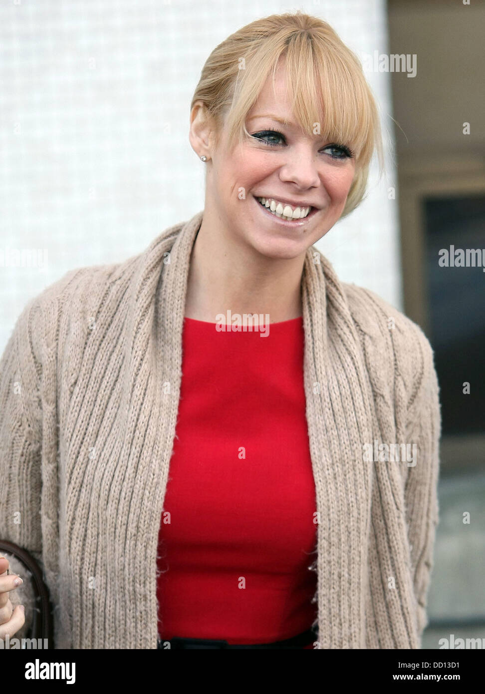 Liz McClarnon at the ITV studios London, England - 16.01.12 - Stock Image