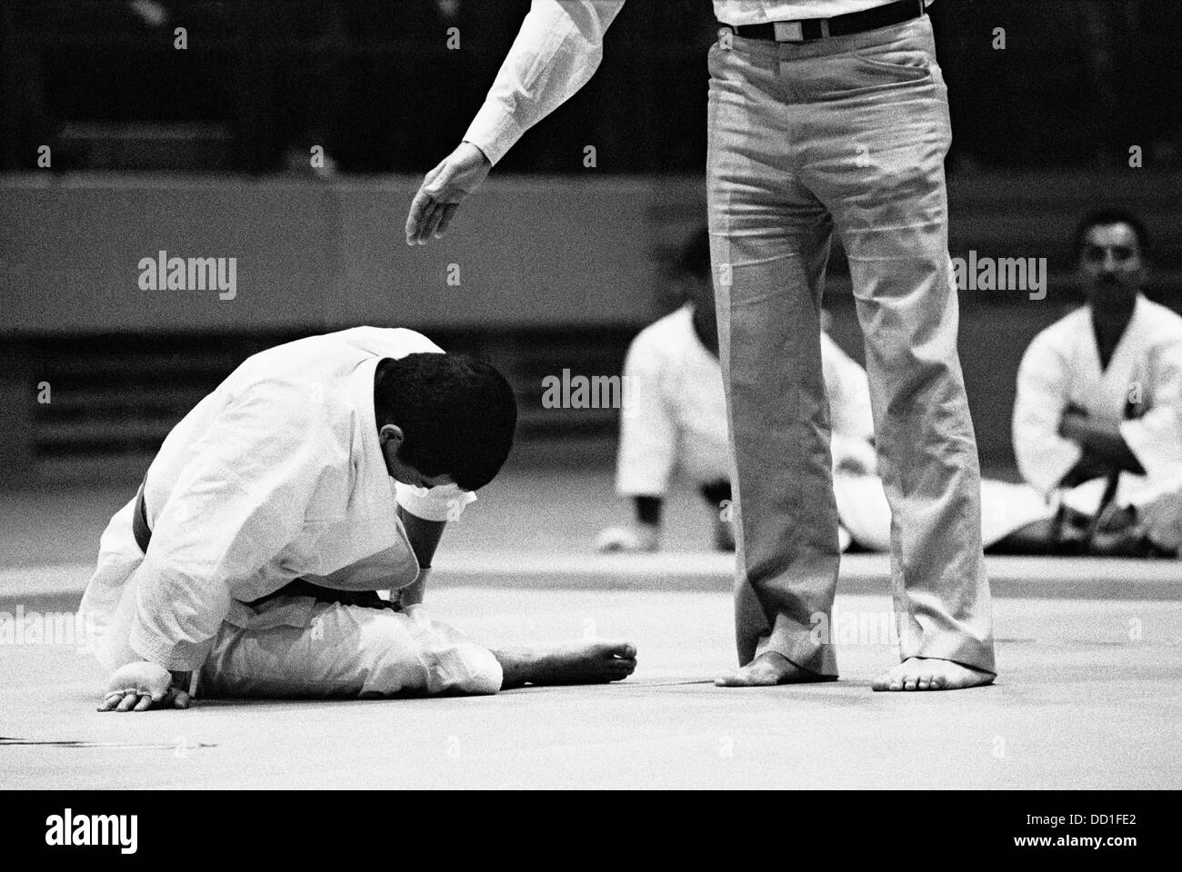 karate fight stock photos karate fight stock images alamy
