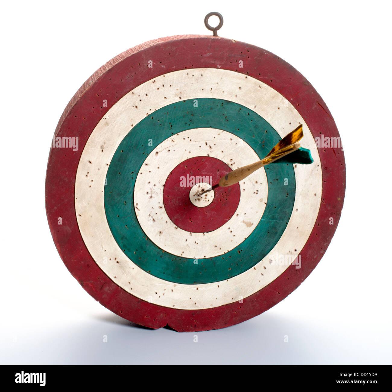 dart board - Stock Image