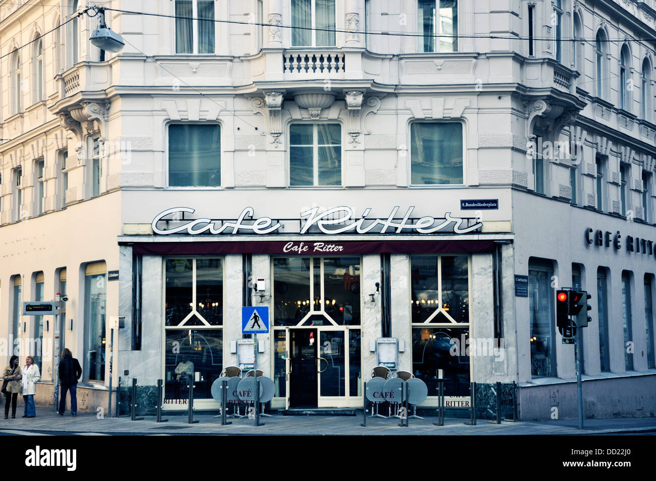 Cafe Ritter In Vienna Austria Stock Photo 59667608 Alamy