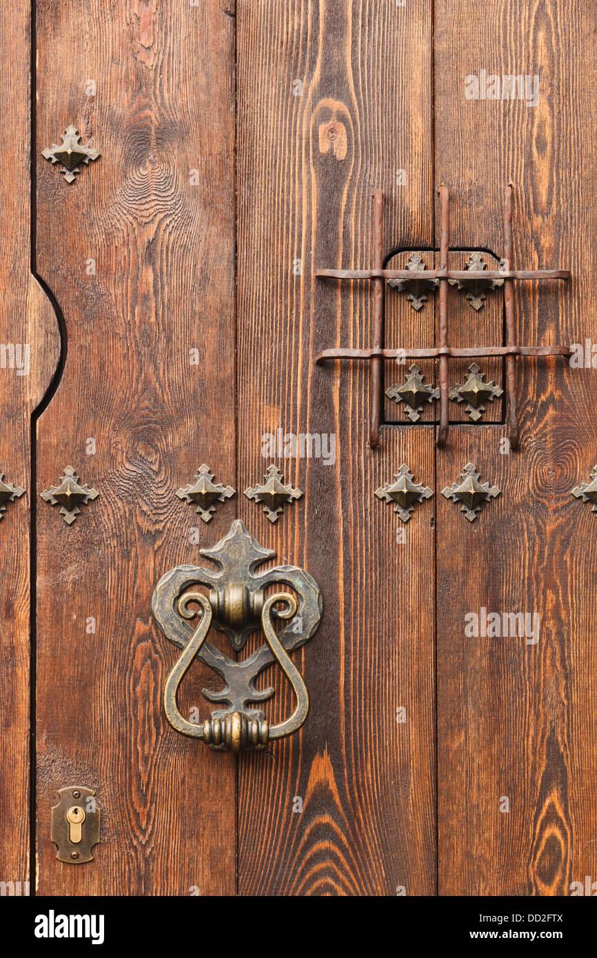 Door With Knocker And Judas Window; Grazalema Cadiz Andalusia Spain - Stock Image & Judas Door Stock Photos u0026 Judas Door Stock Images - Alamy
