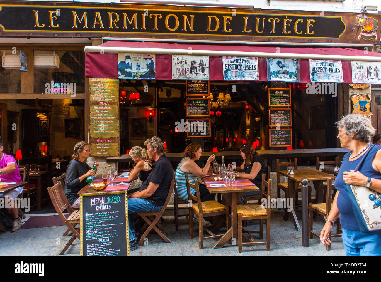 Cafe Le Lutece Paris