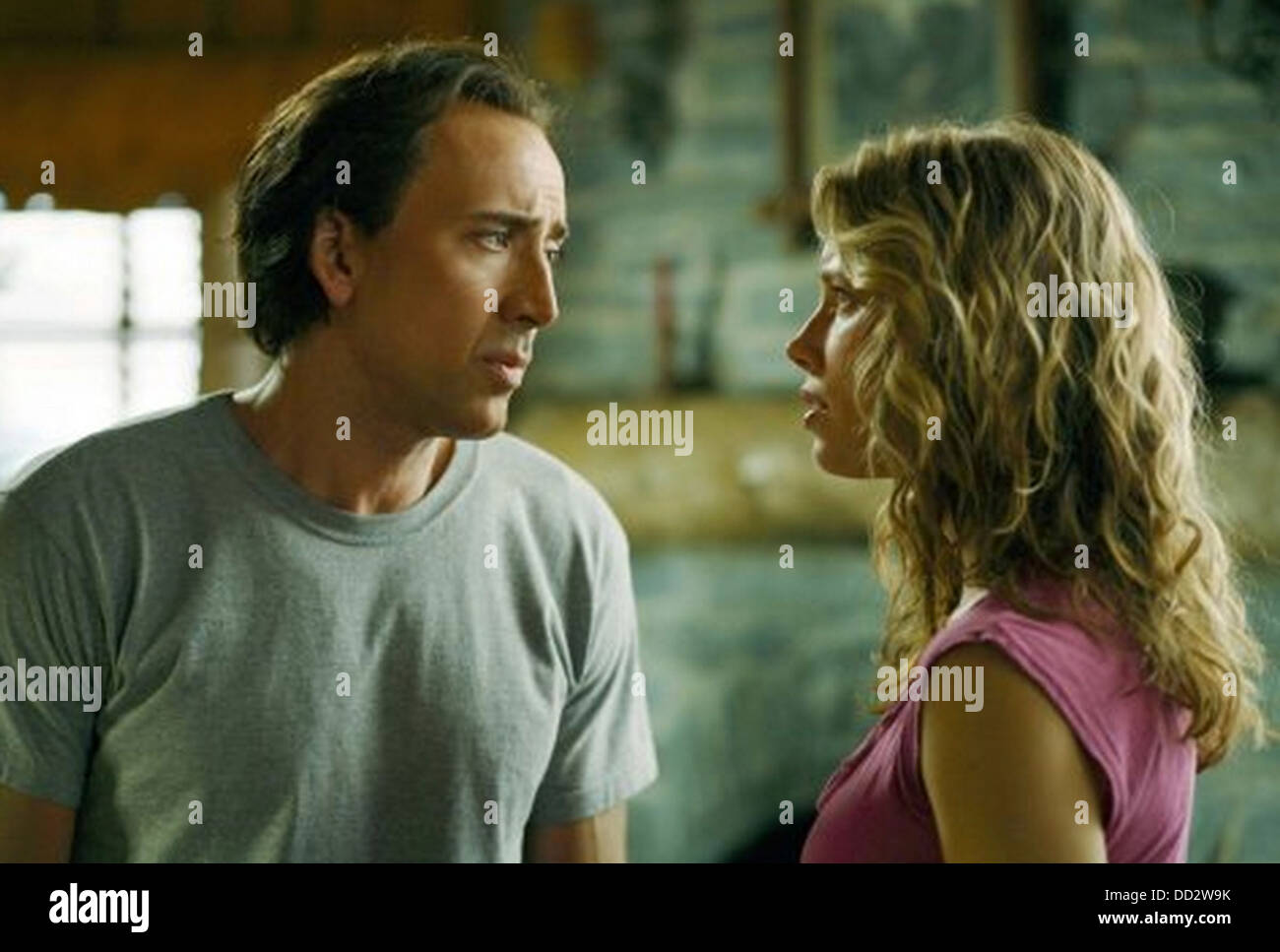NEXT  2007 Paramount Pictures film with Jessica Biel and Nicolas Cage - Stock Image