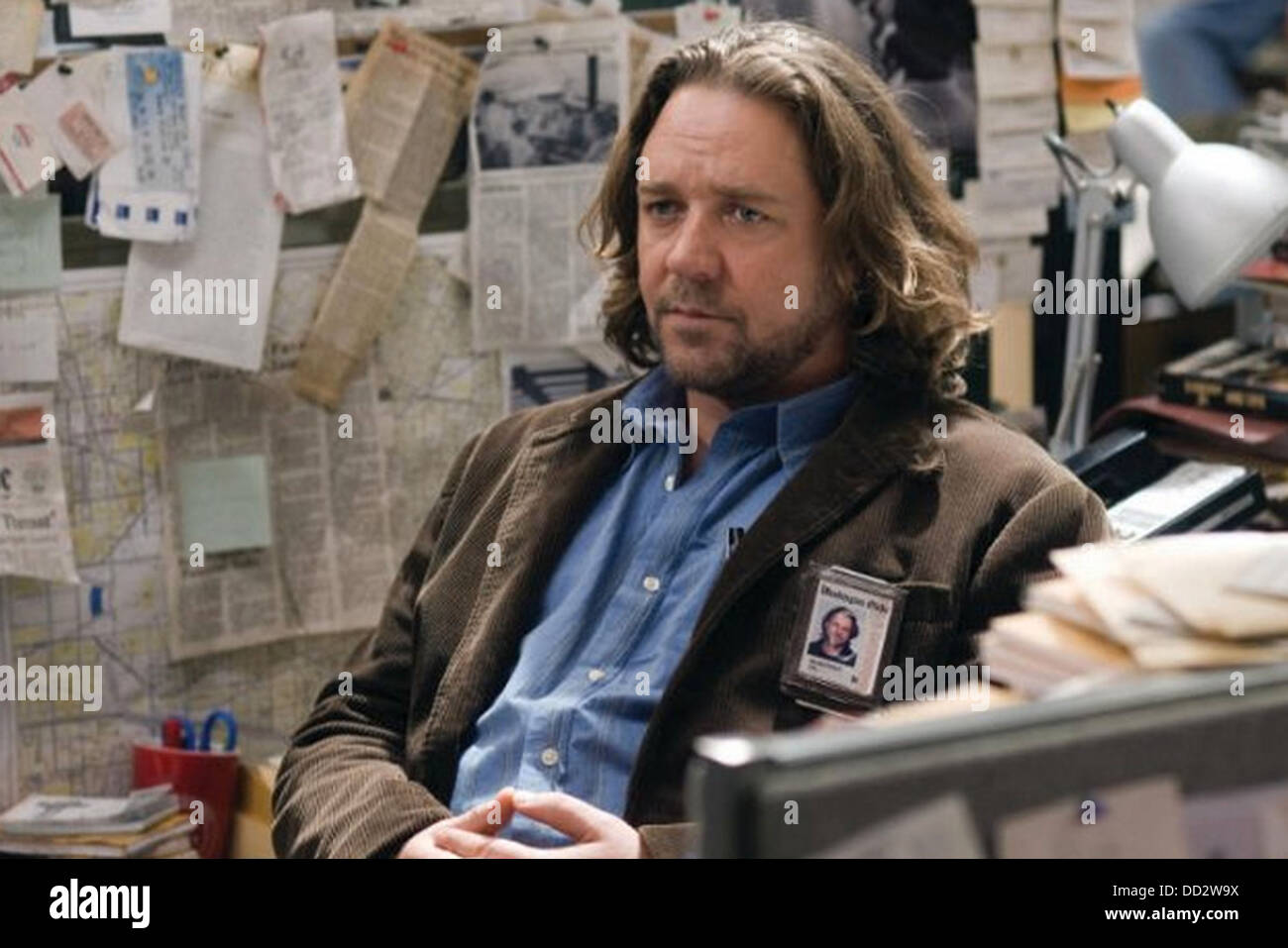 STATE OF PLAY  2009 Universal Pictures/Working Title film with Russell Crowe - Stock Image