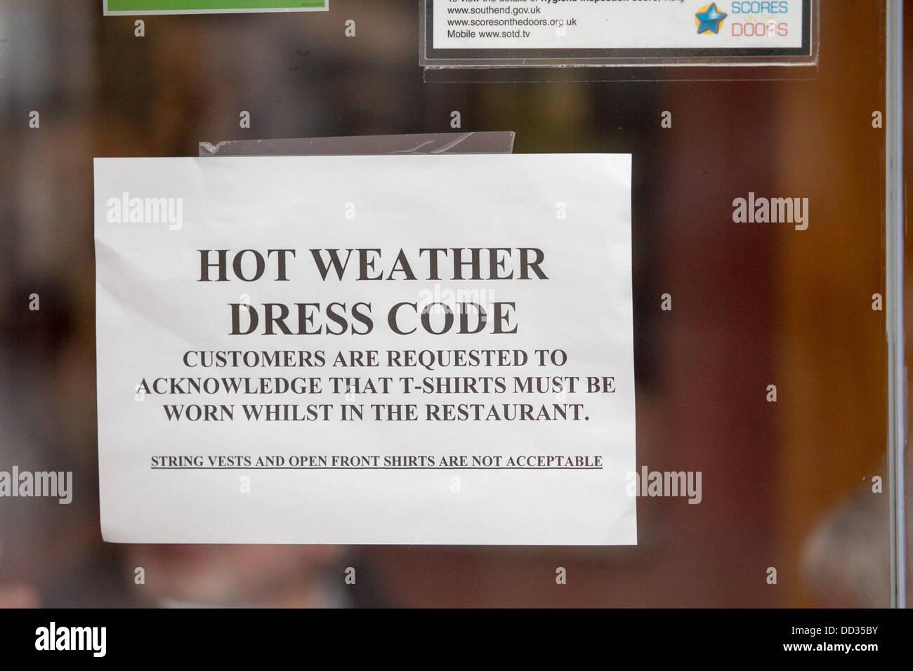 Dress Code Sign Stock Photos & Dress Code Sign Stock Images