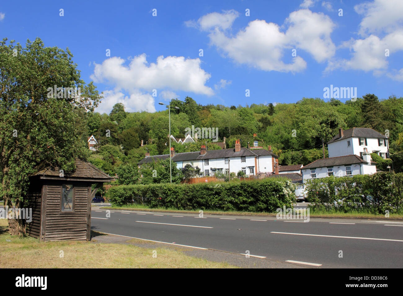 The Village Of Mickleham Between Dorking And Leatherhead Surrey Stock Photo Alamy
