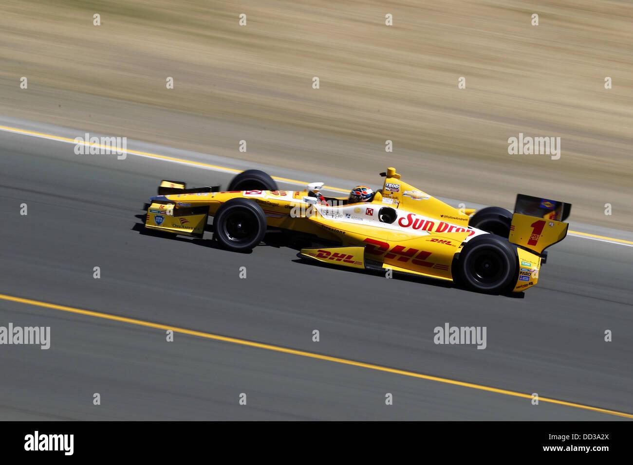 540cb37c49b Sonoma, California, US. 24th Aug, 2013. IZOD Indycar Series, Go