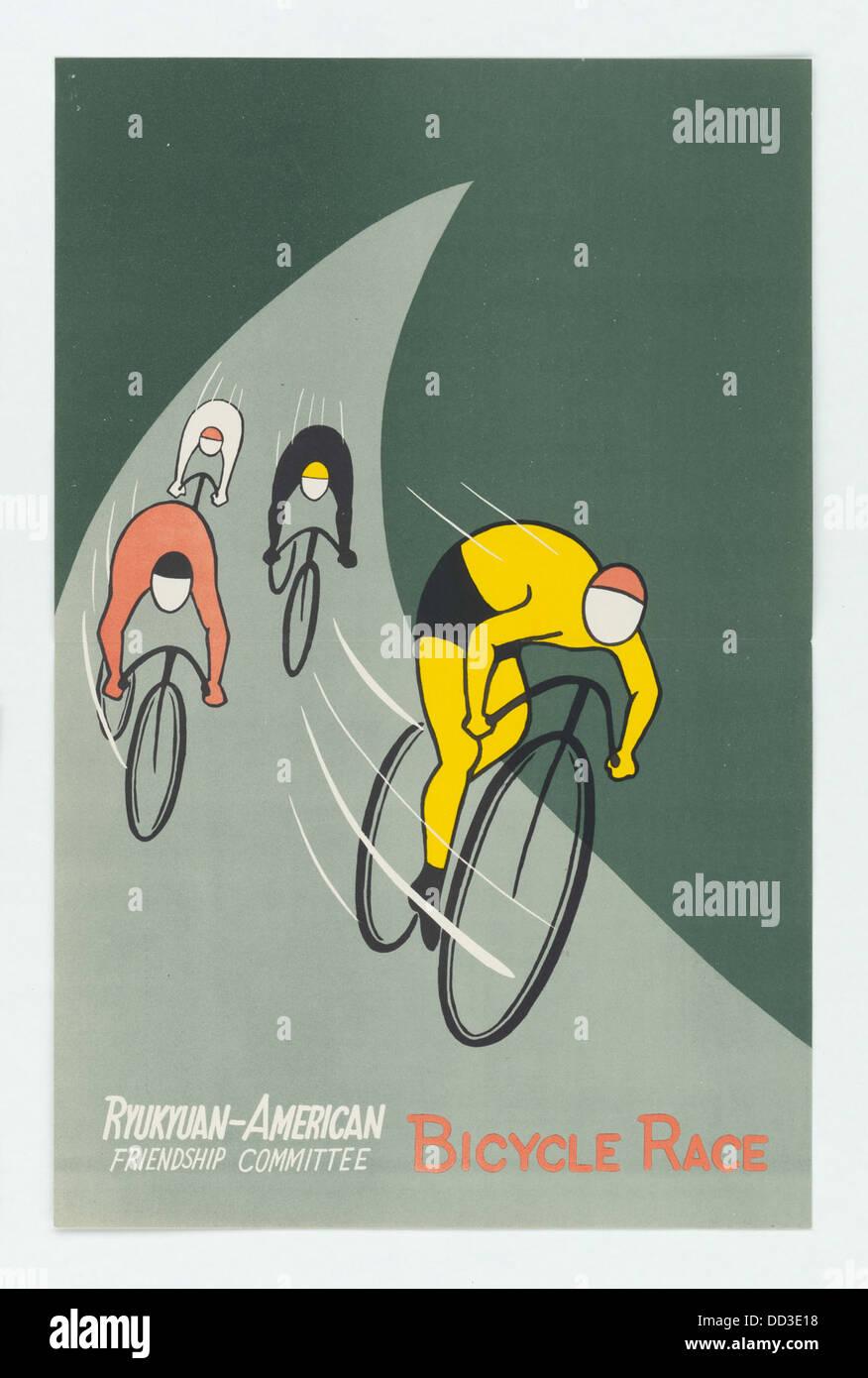 Ryukyuan-American Friendship Committee Bicycle Race - - 5729917 - Stock Image