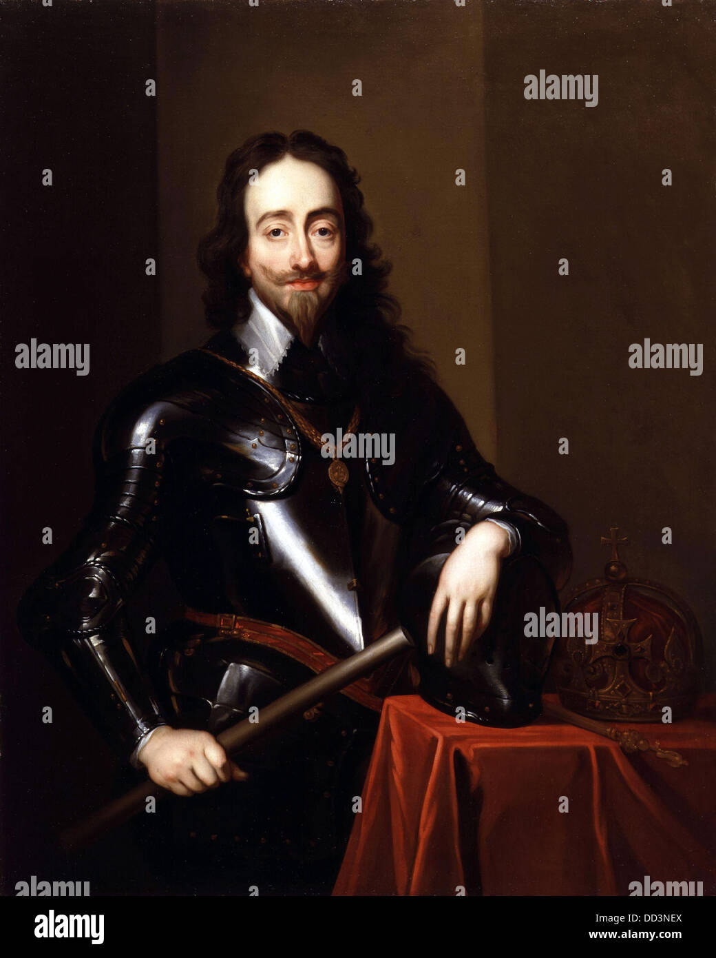 Charles I, King Charles I of Great Britain and Ireland from 1625 - Stock Image
