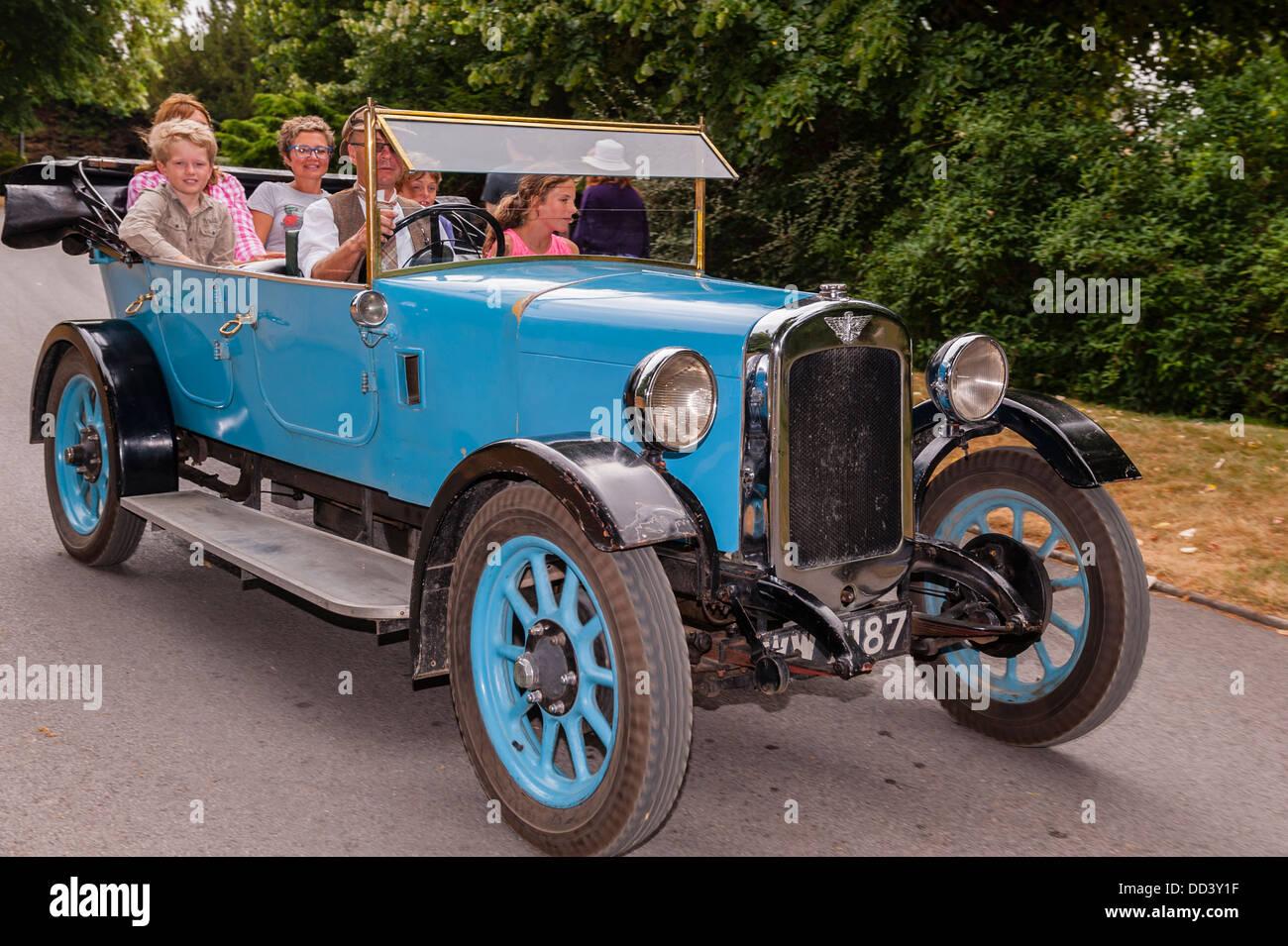 An old car at the National Motor Museum at Beaulieu in Beaulieu ...
