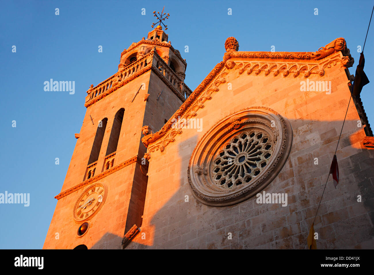 Korcula Church of St.Marko - Stock Image