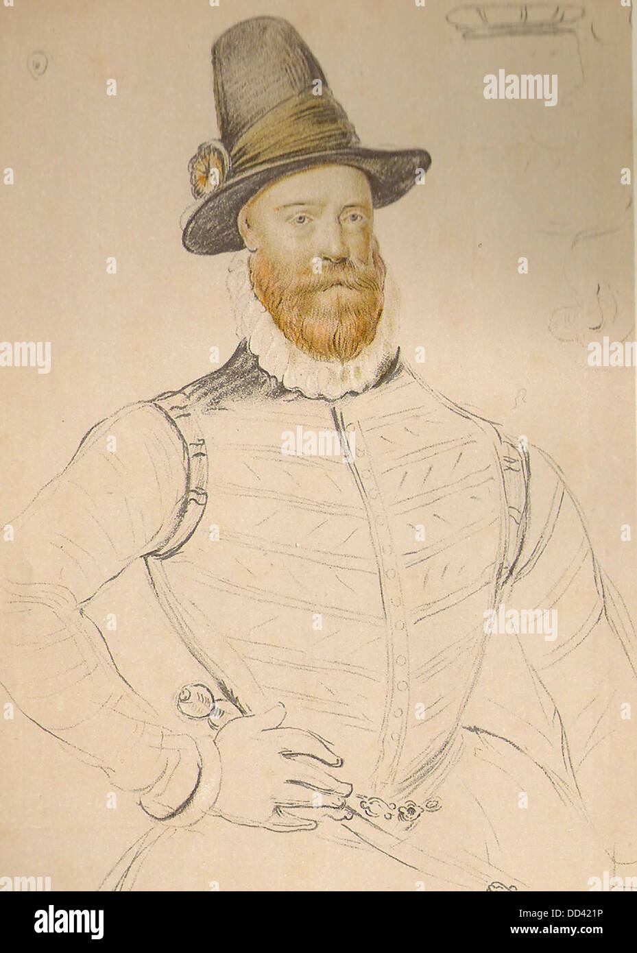 James Douglas, 4th Earl of Morton - Stock Image