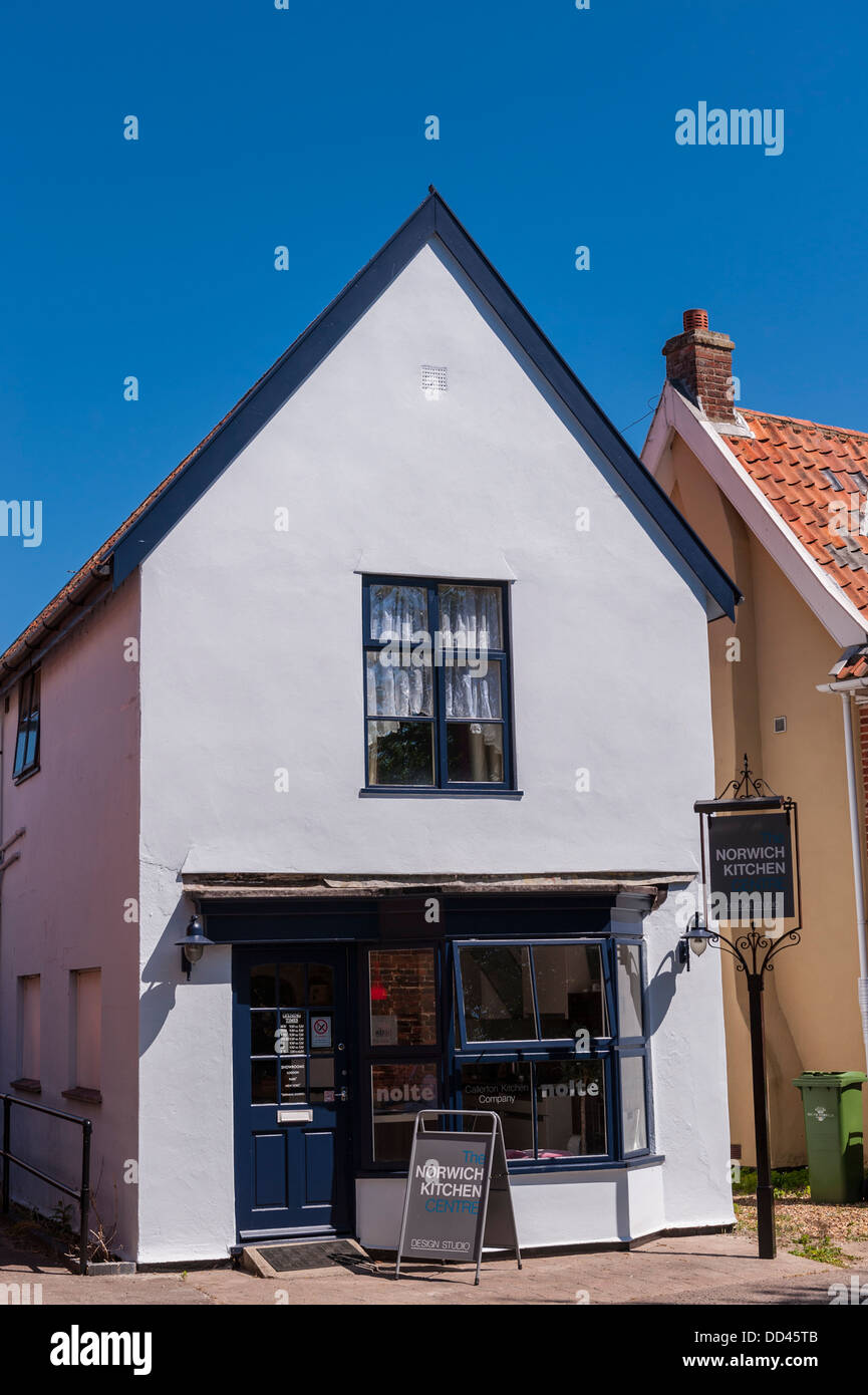 Norwich Kitchens shop in Loddon , Norfolk , England , Britain , UK - Stock Image