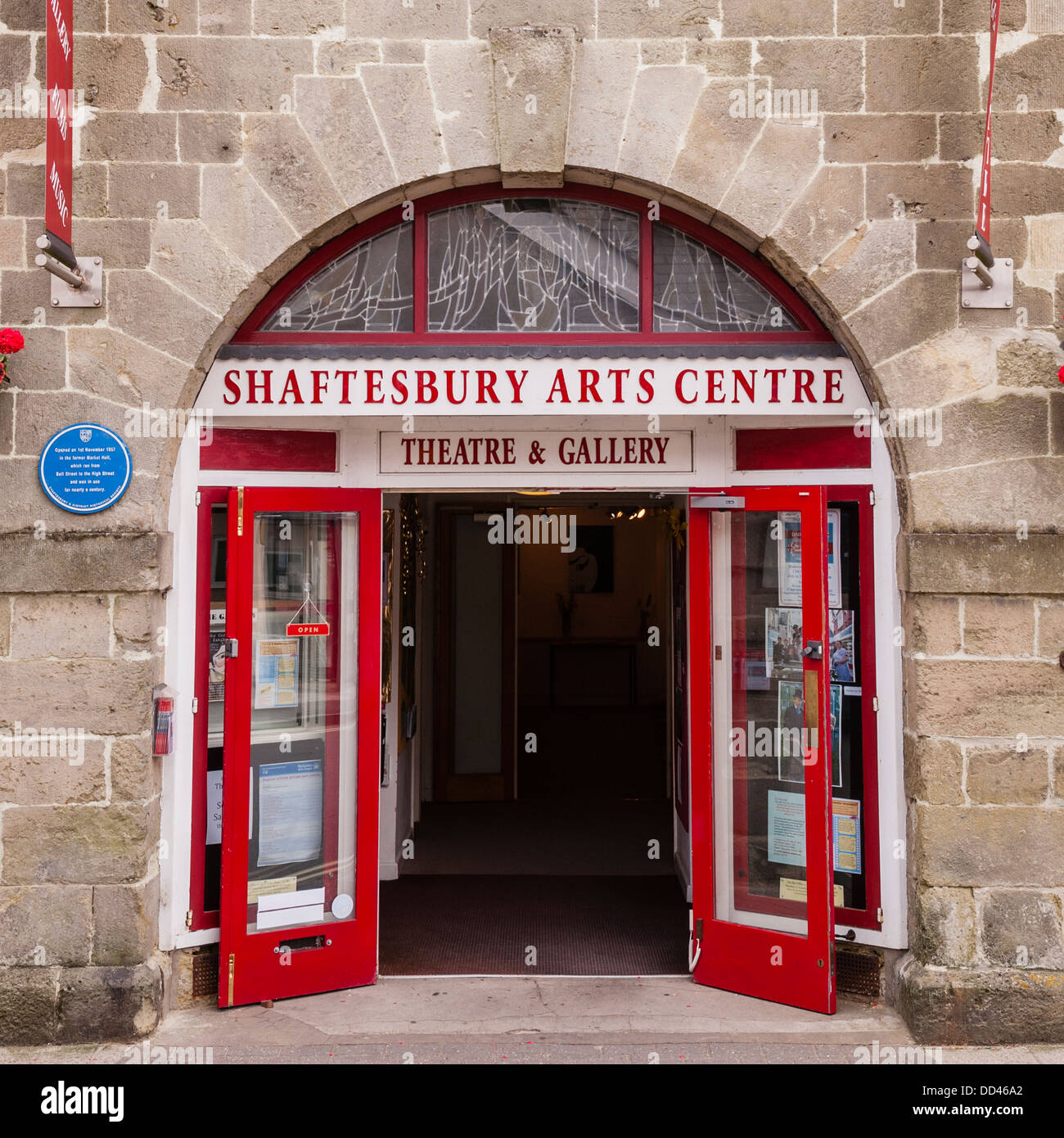 The Shaftesbury Art Centre in Shaftesbury , Dorset , England , Britain , Uk - Stock Image