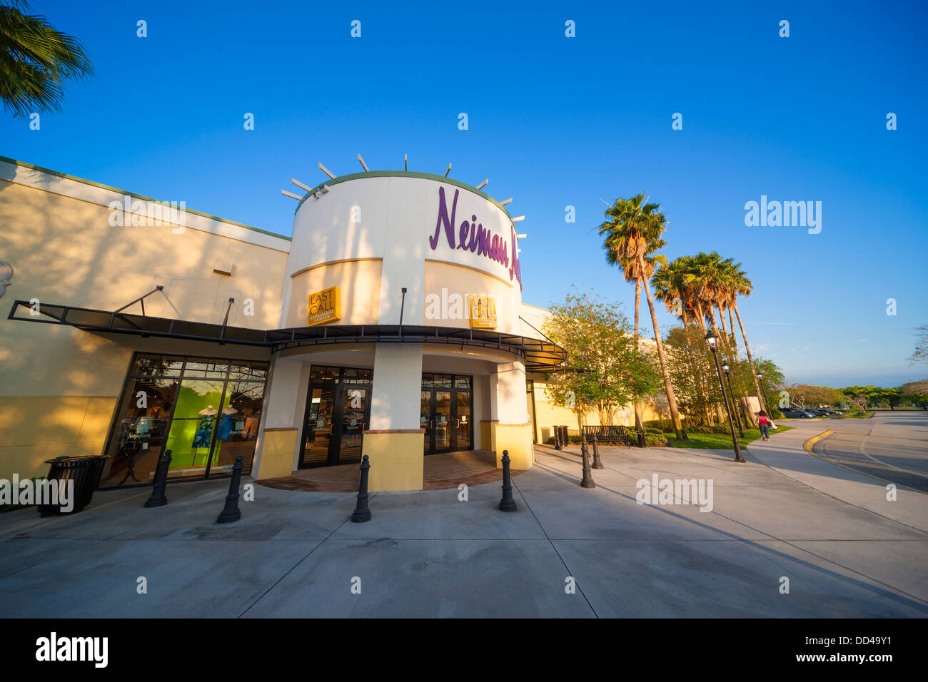Last Call by Neiman Marcus outlet discount store at the Sawgrass Mills Mall in Sunrise Miami Florida - Stock Image