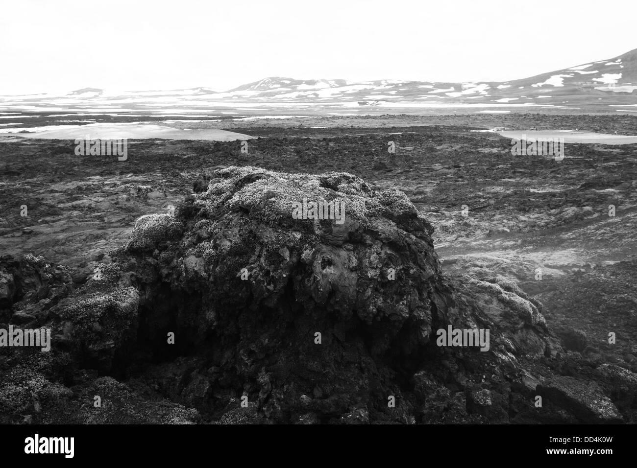 Krafla volcano - Stock Image