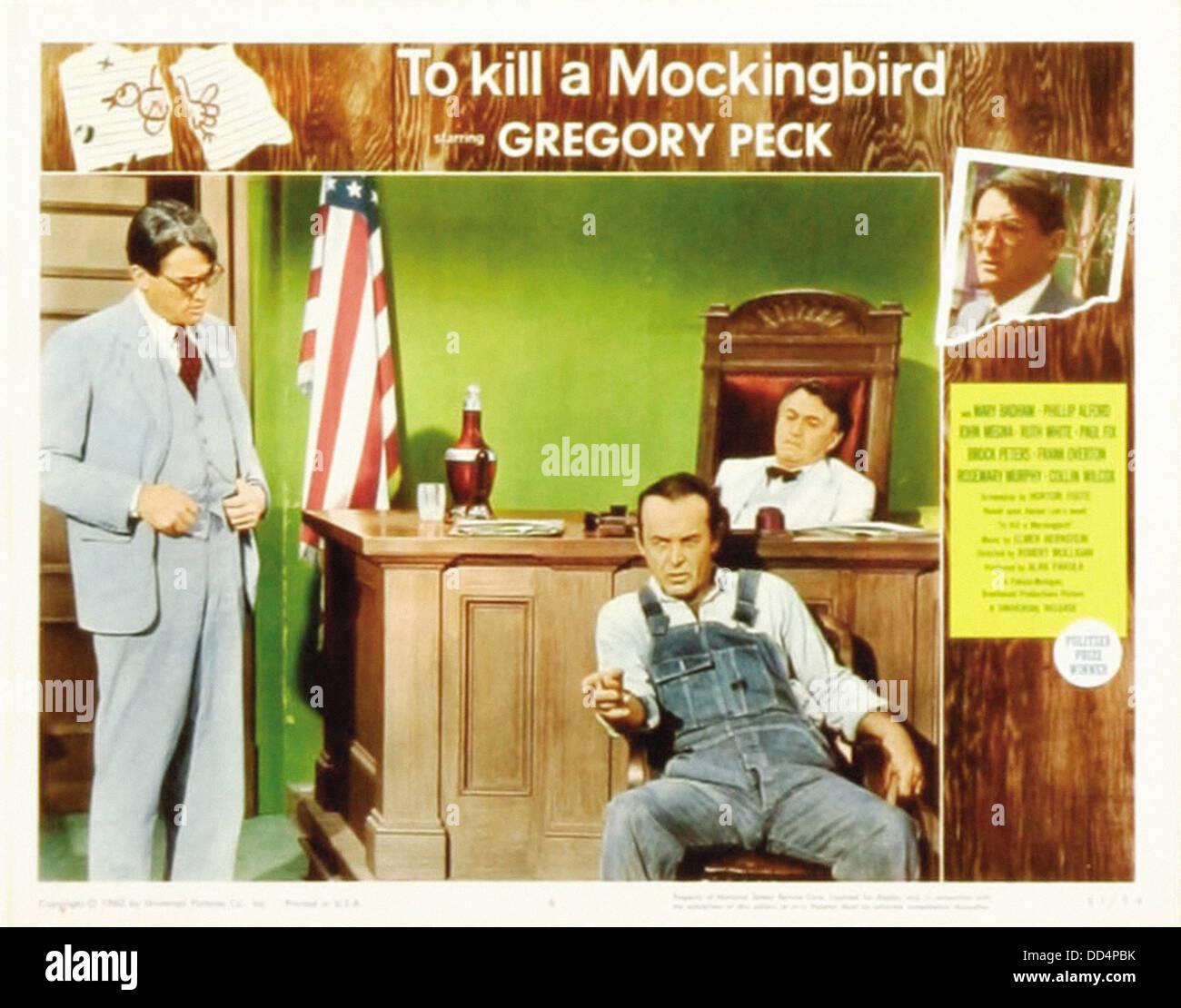 To Kill A Mockingbird Movie Stock Photos & To Kill A