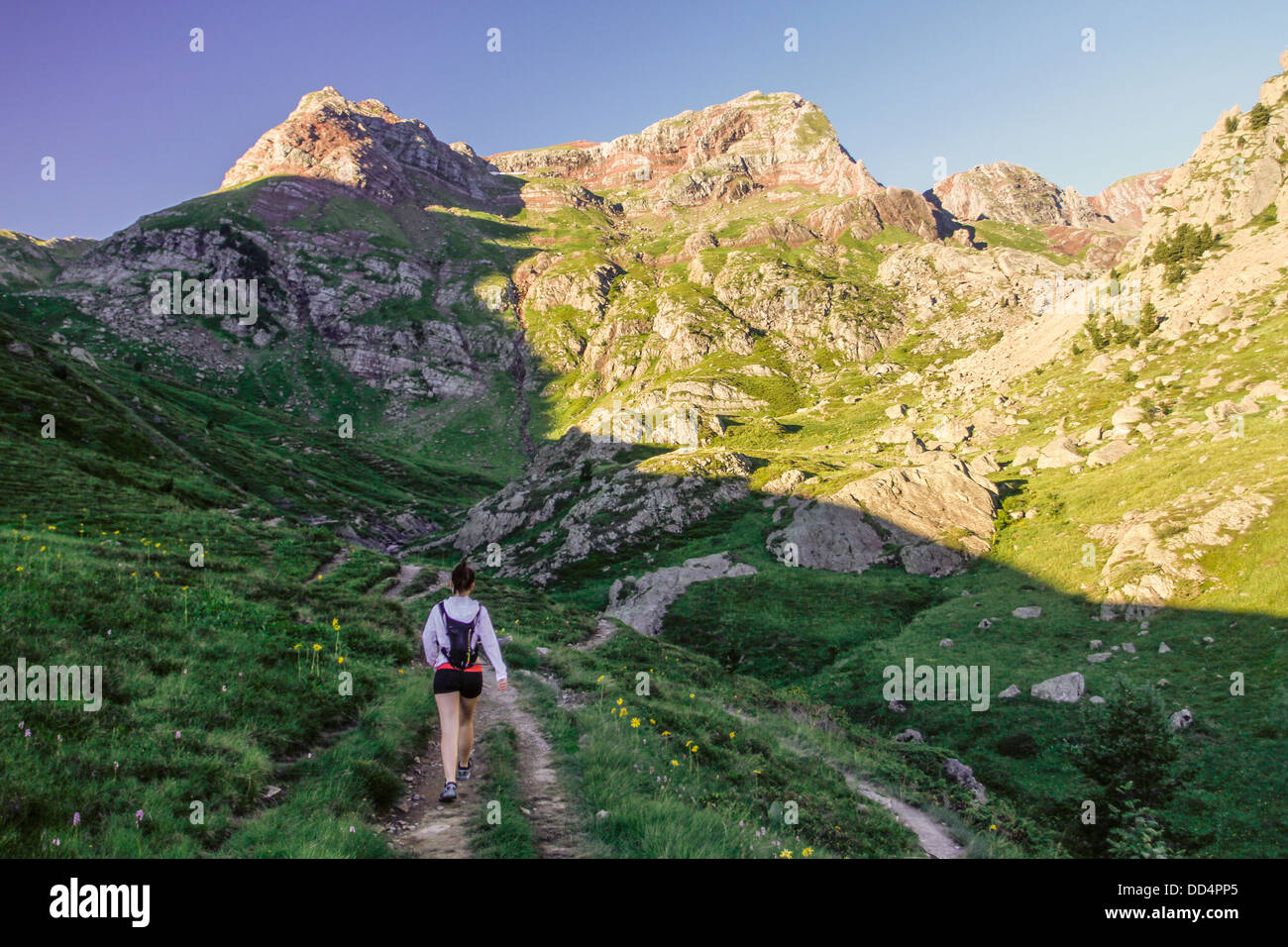 Formigal, Pyrenees. Stock Photo