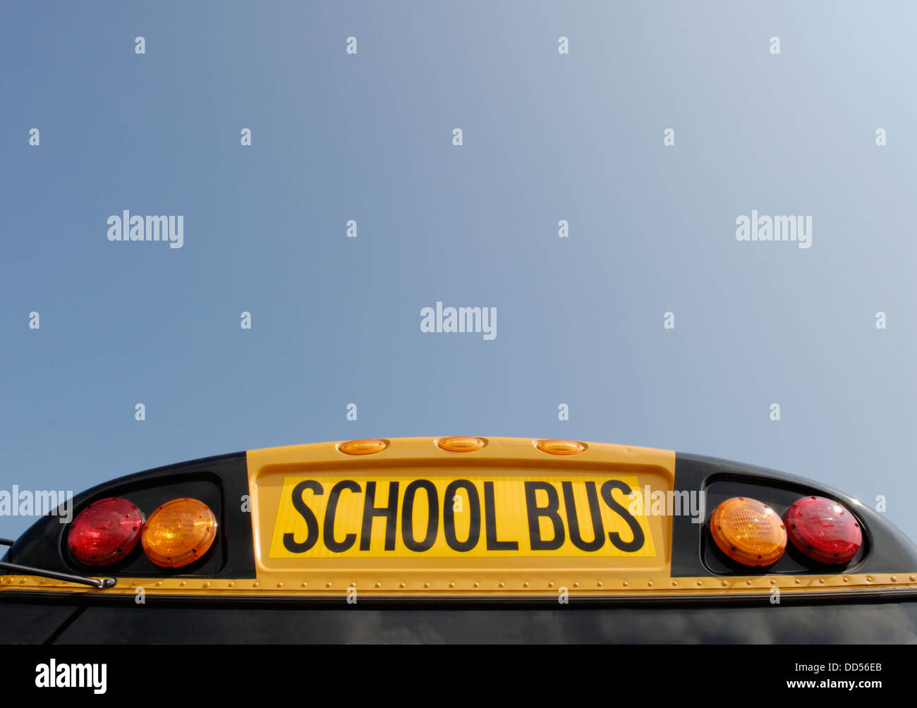 School bus - Stock Image
