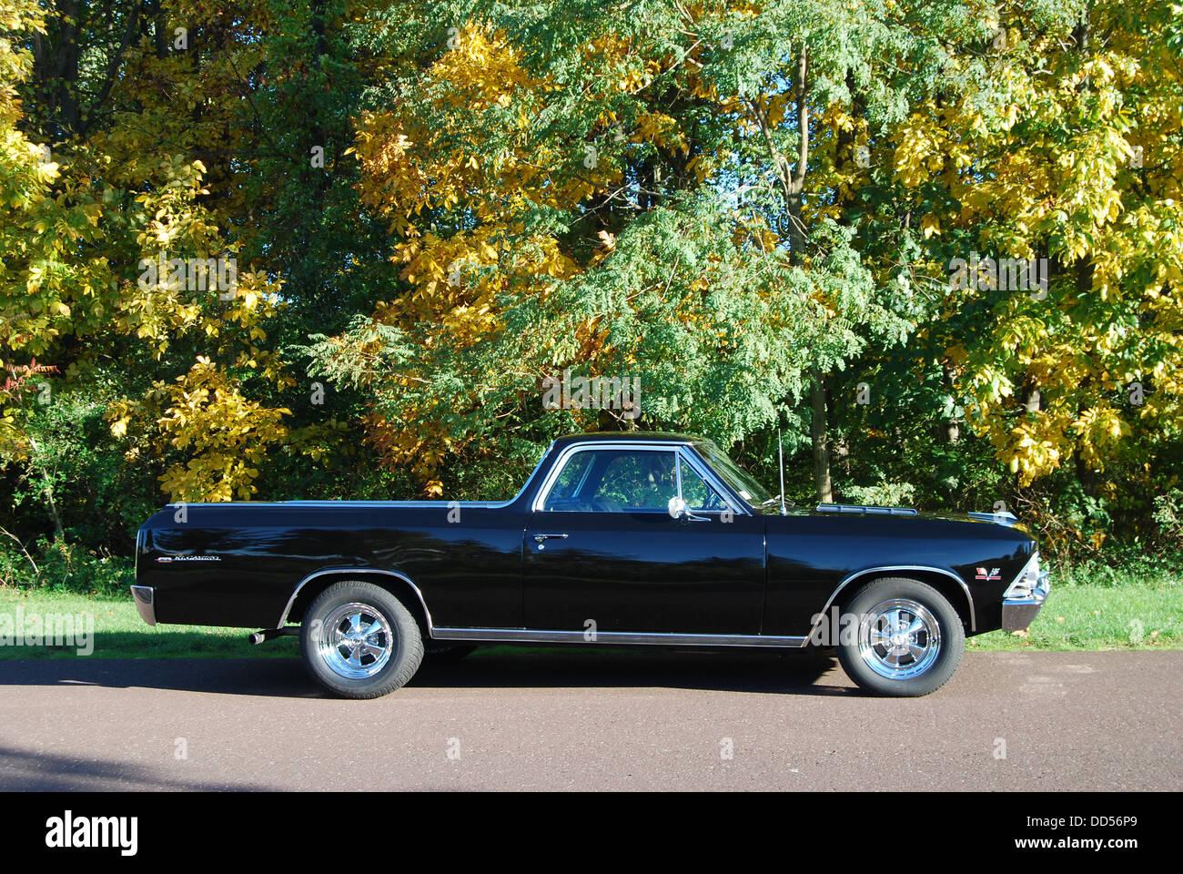 1966 El Camino Chevy Stock Photos Image