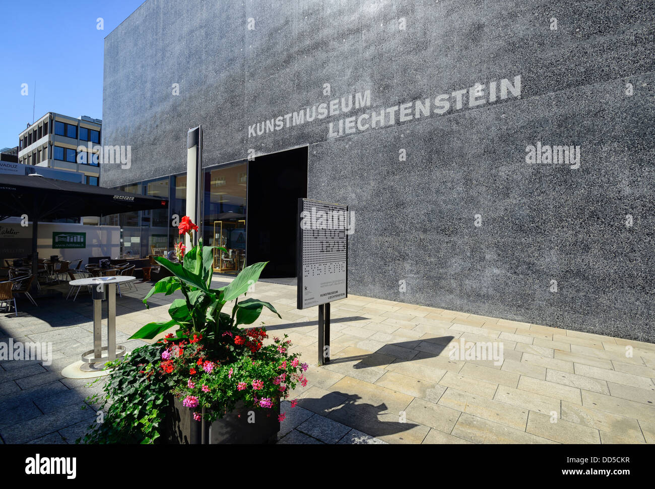 Art Museum, Vaduz, Liechtenstein, Europe - Stock Image