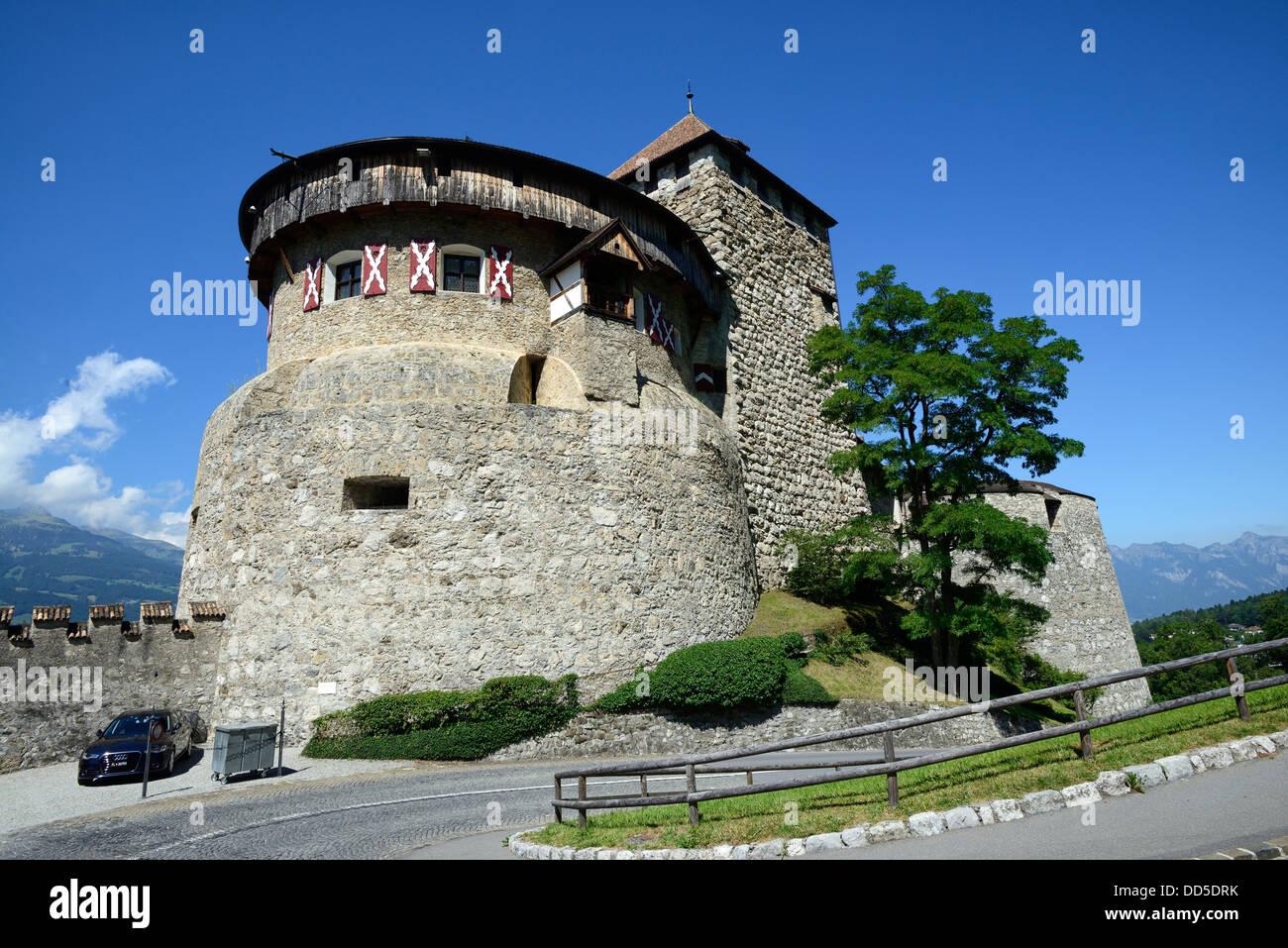 Vaduz Castle, Vaduz, Liechtenstein, Europe Stock Photo