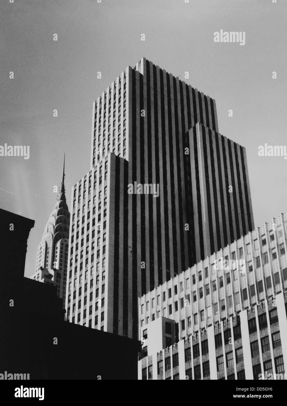 New York Daily News Building, New York City, ca 1930s - Stock Image