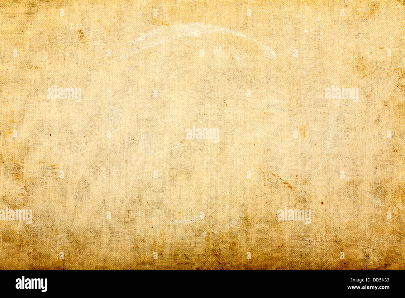 Old Brown Paper Texture, Background For Artwork - Stock Image