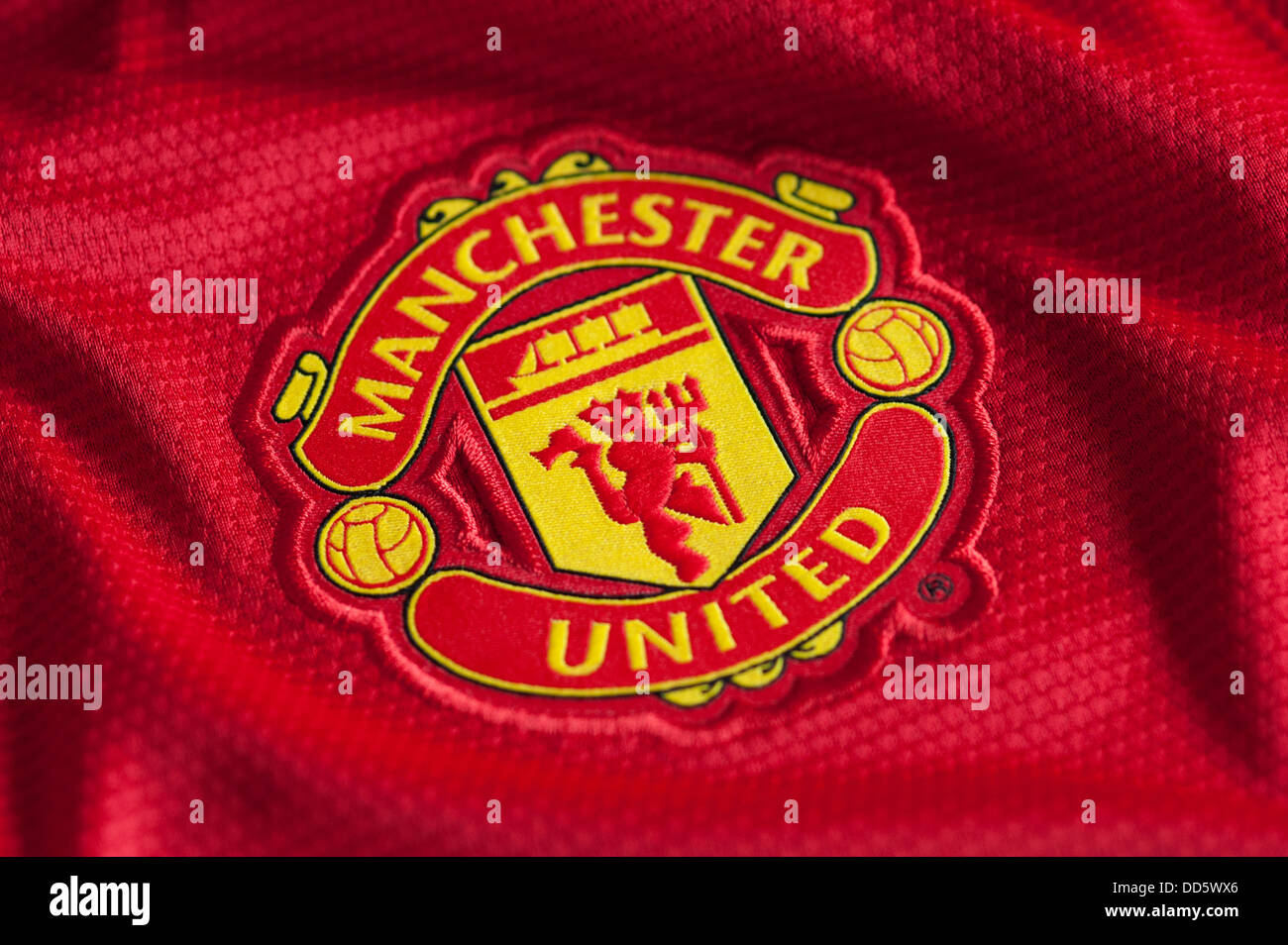 Man Utd Logo High Resolution Stock Photography And Images Alamy