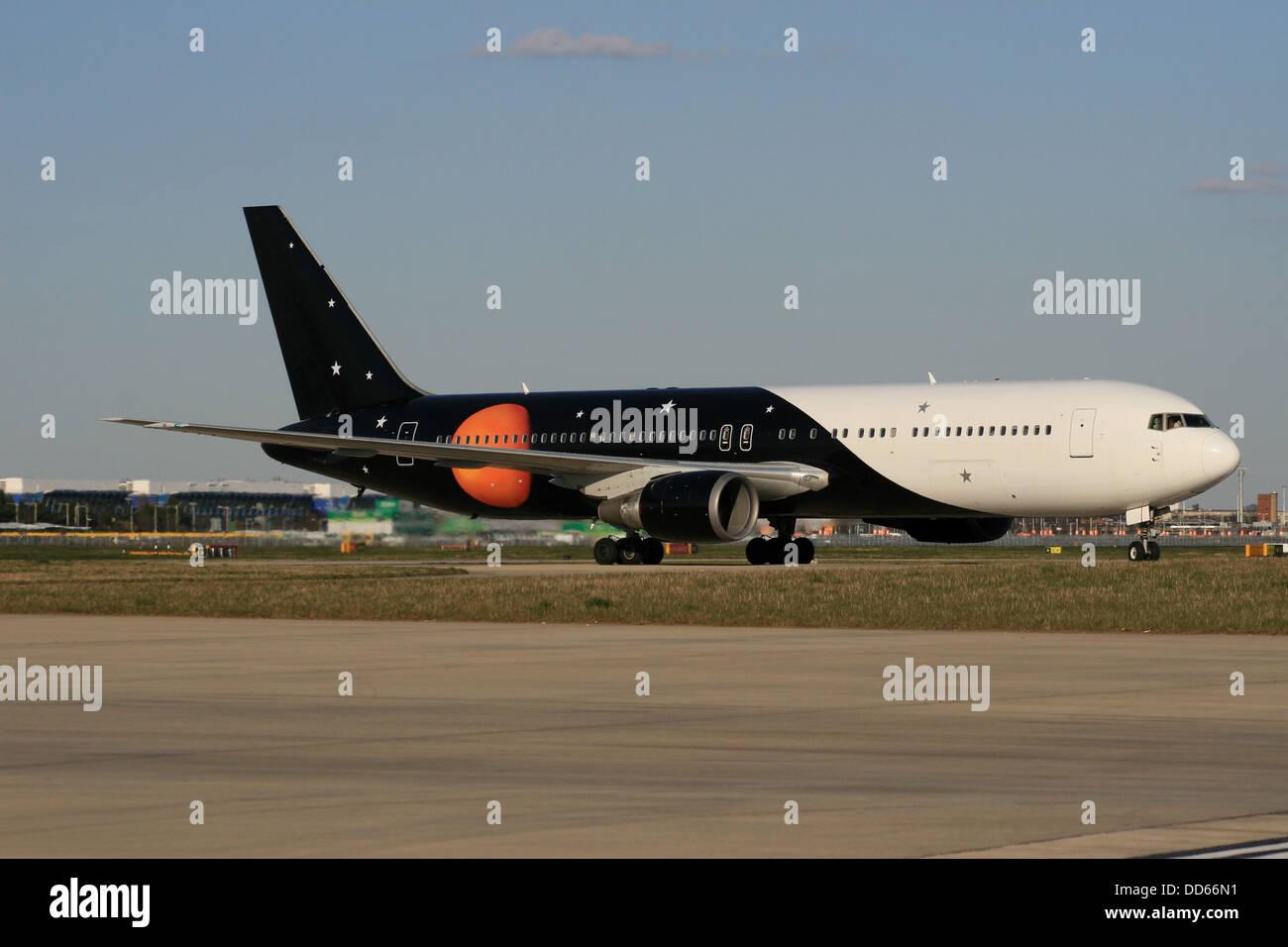 TITAN AIRWAYS - Stock Image