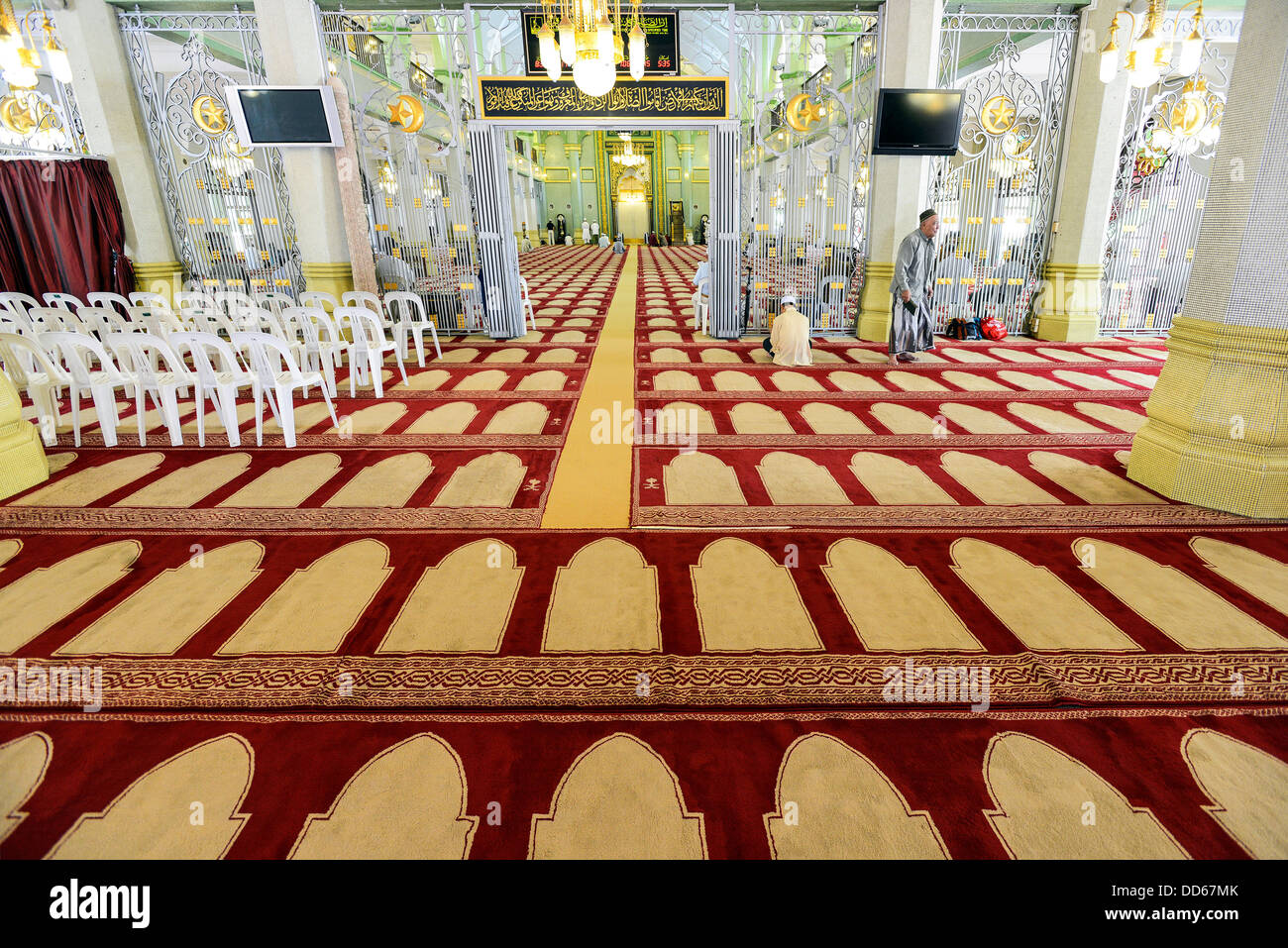 Asia Singapore Sultan's Mosque in Kampong Glam - Stock Image