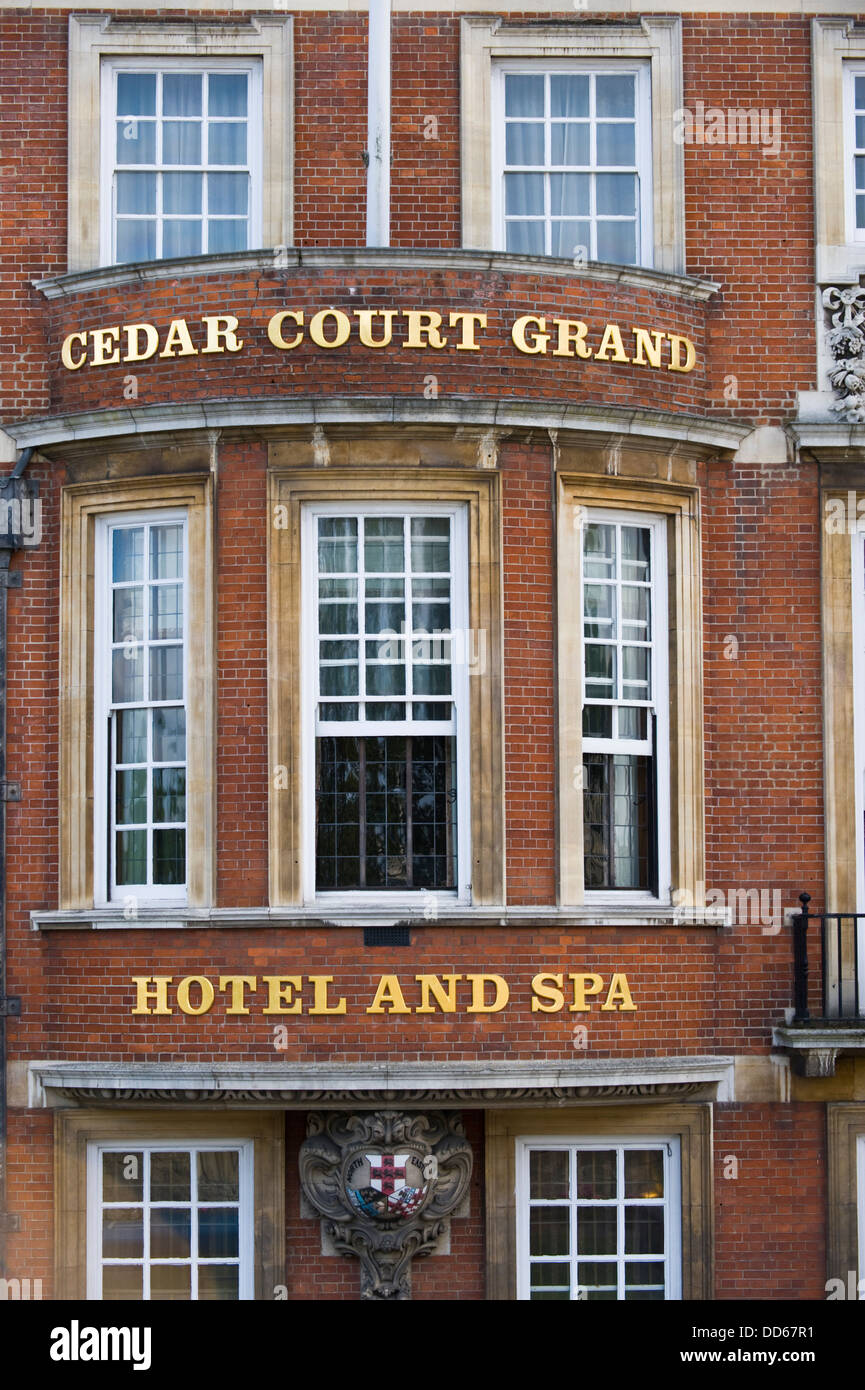 Cedar Court Grand Hotel & Spa in city of York North Yorkshire England UK - Stock Image