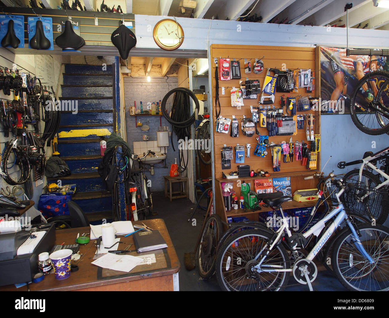 Bicycle Repair Stock Photos & Bicycle Repair Stock Images