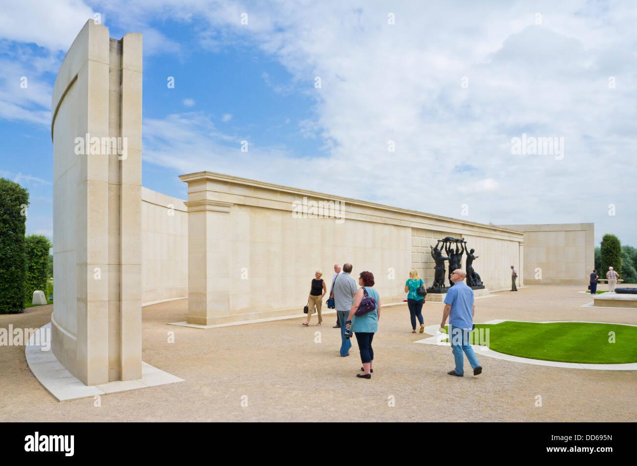 The National Memorial Arboretum Armed Forces memorial Alrewas Staffordshire England UK GB EU Europe - Stock Image
