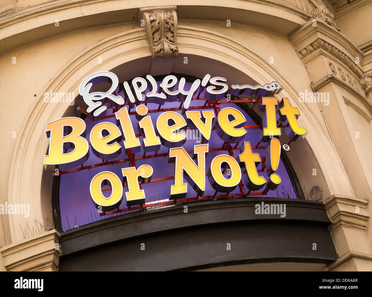 Ripley's 'Believe it or Not' attraction in London - Stock Image