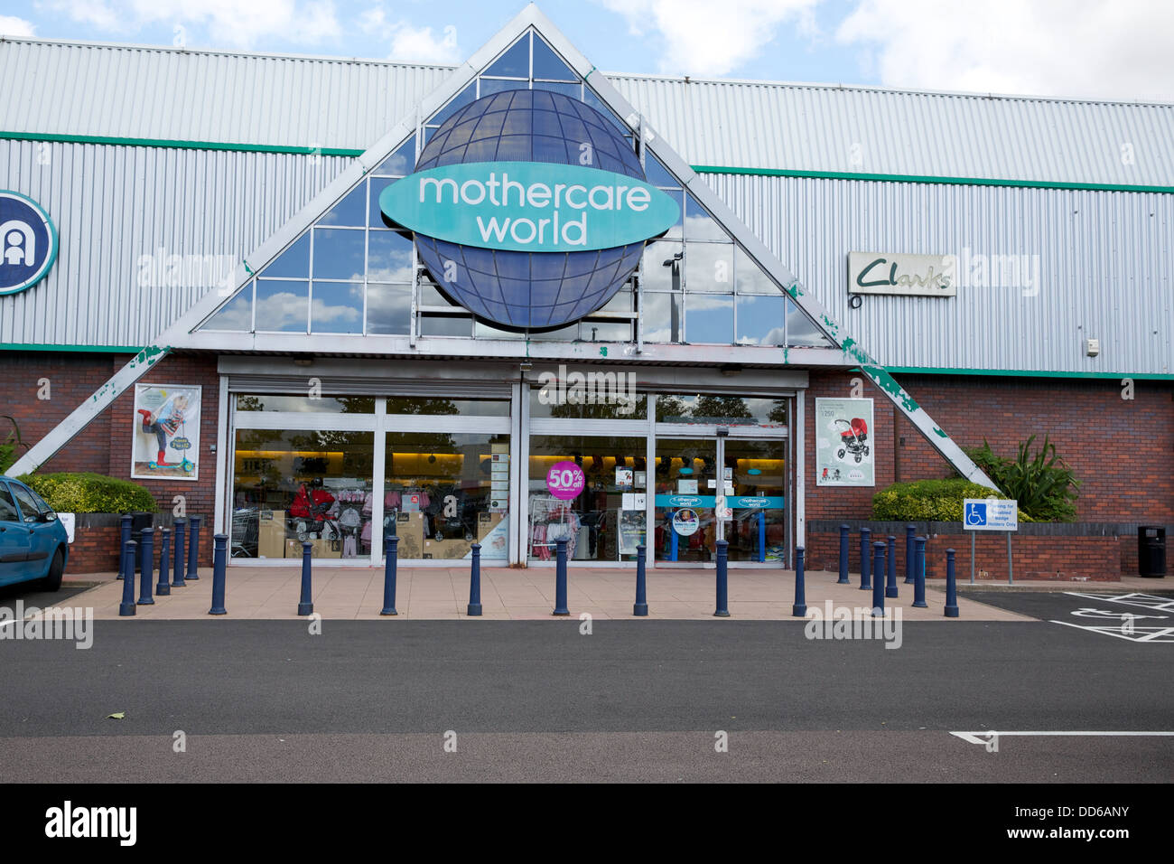 Old Mothercare World Retail Park - Stock Image
