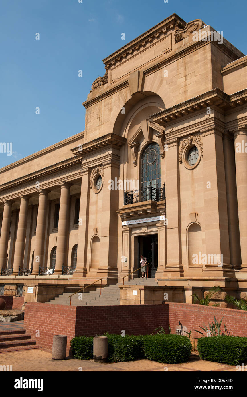 The National Museum of Natural History, Pretoria, South Africa - Stock Image
