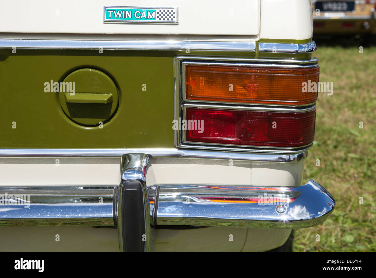 A Lotus Ford Cortina. Stock Photo
