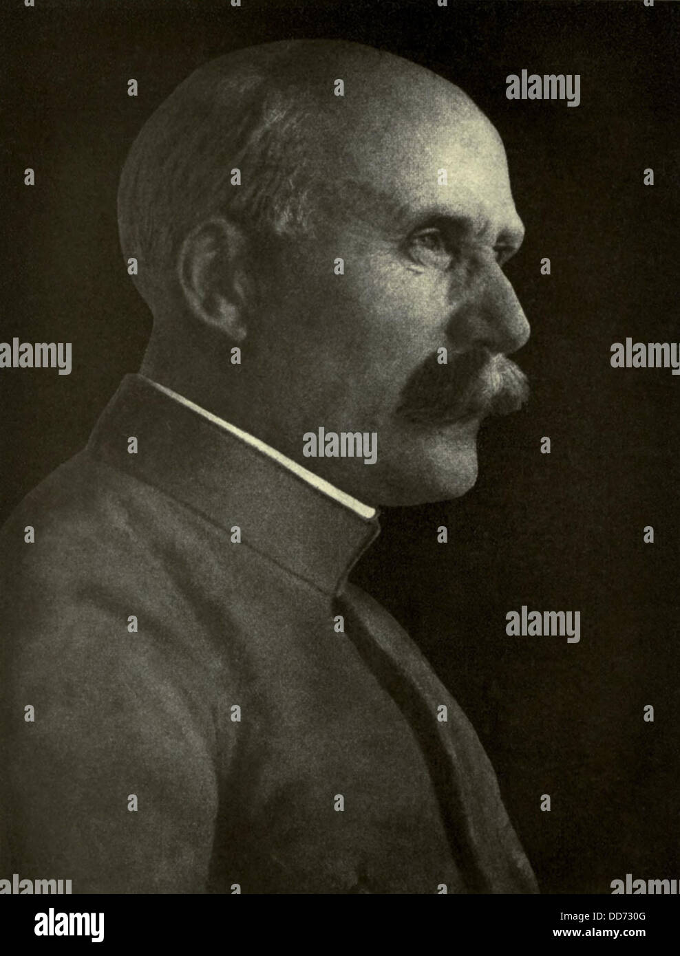 General Henri-Philippe Petain, French World War 1 commander believed modern weaponry favored defensive tactics over - Stock Image
