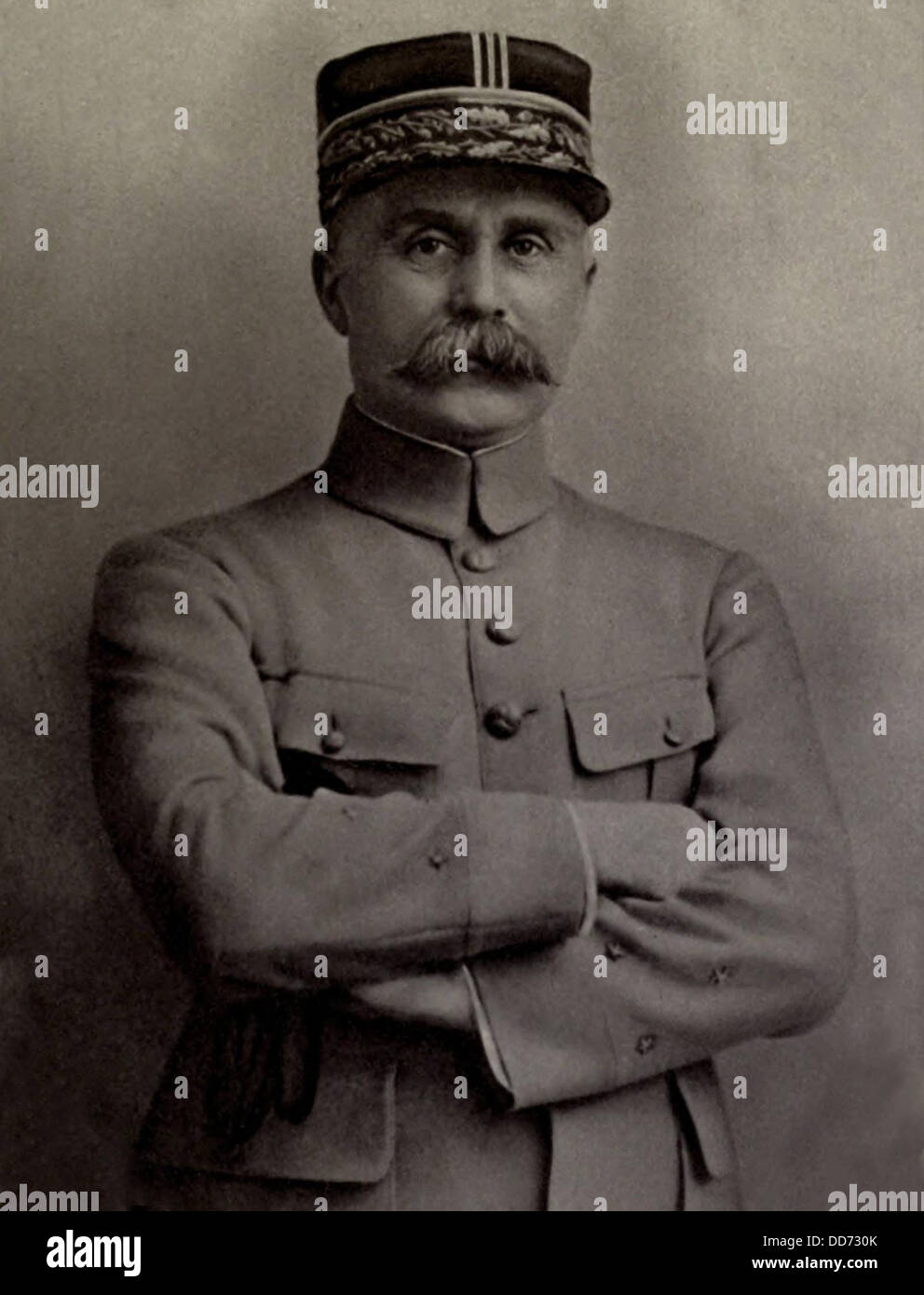 General Henri-Philippe Petain, French World War 1 commander who directed the successful defense of Verdun in 1916. - Stock Image