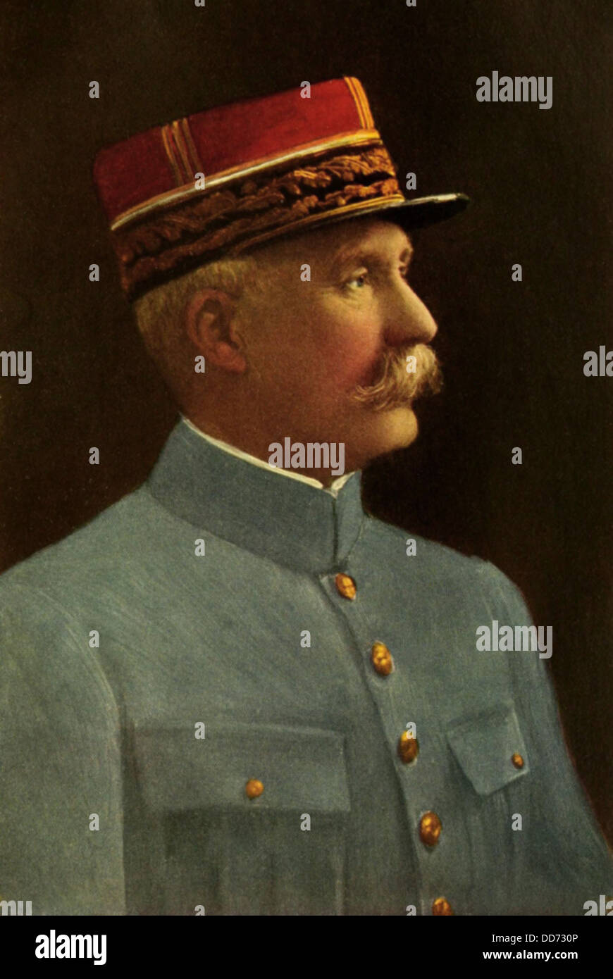 General Henri-Philippe Petain, French World War 1 hero who collaborated with the Nazi conquerors of France in World - Stock Image