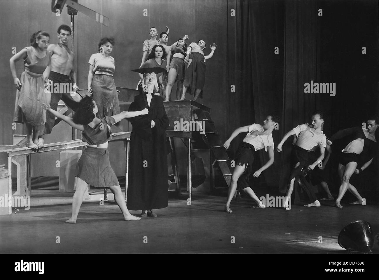 WPA Federal Theater Project, 'Young Tramps', 1936-37. The dance theater production was choreographed by - Stock Image