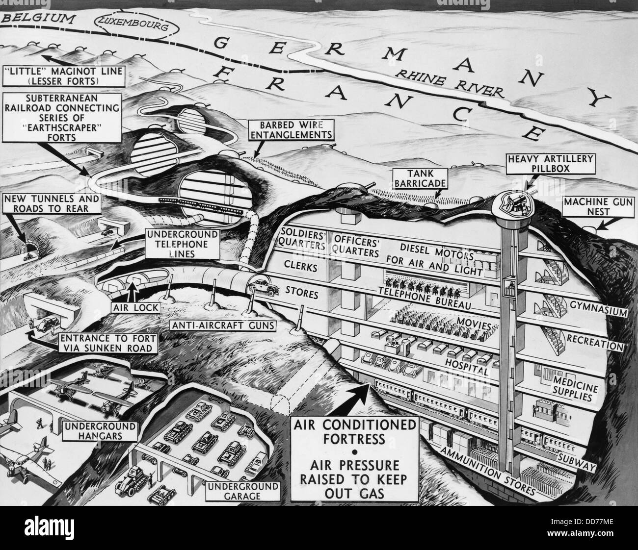 The United States of the Solar System, A.D. 2133 (Deep State Nine) - Page 10 Cross-section-drawing-of-maginot-line-on-the-french-german-border-DD77ME