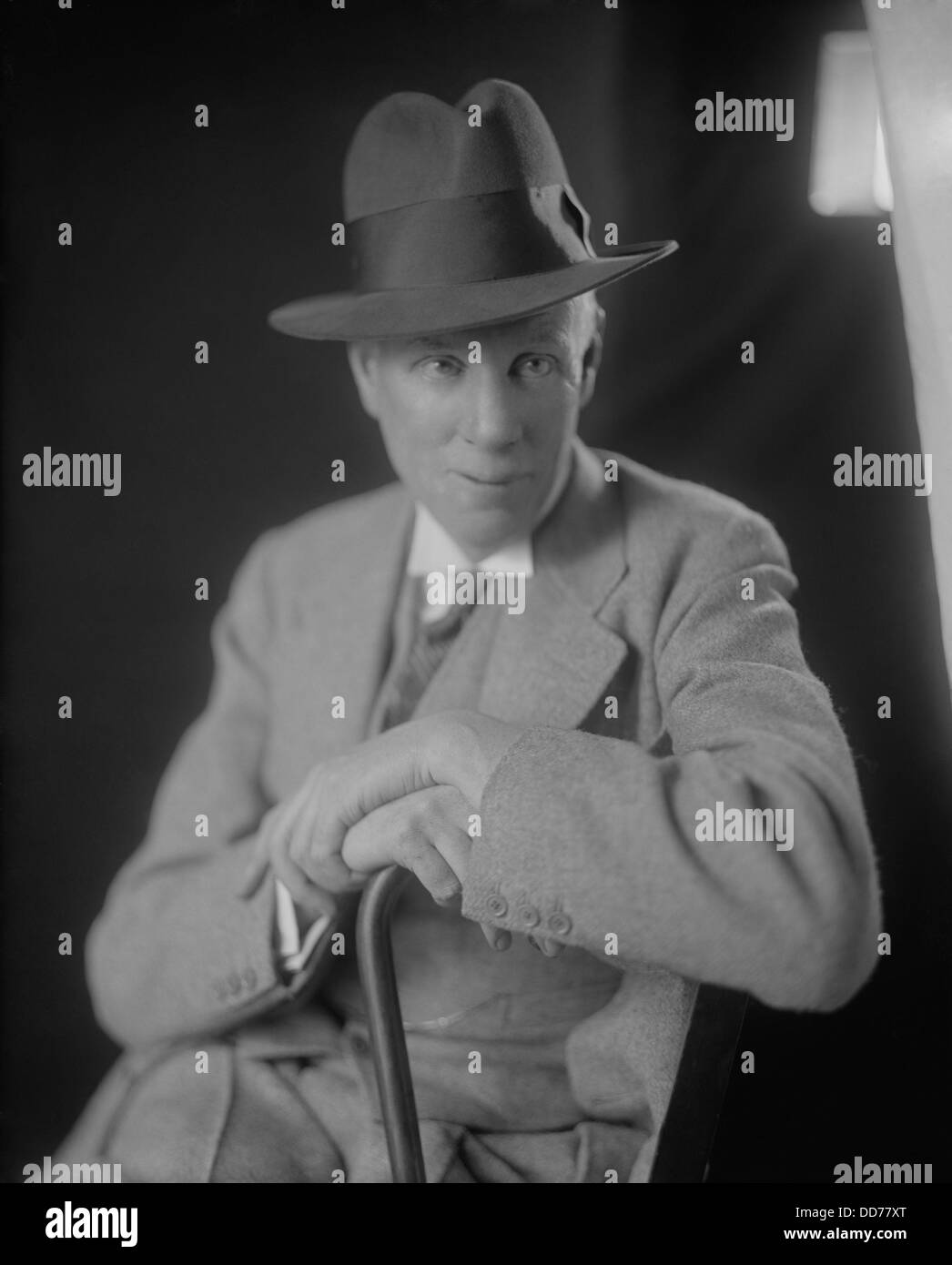 Sinclair Lewis, American Nobel Prize winning author. His novels, 'Arrowsmith', 'Elmer Gantry', 'Dodsworth' - Stock Image