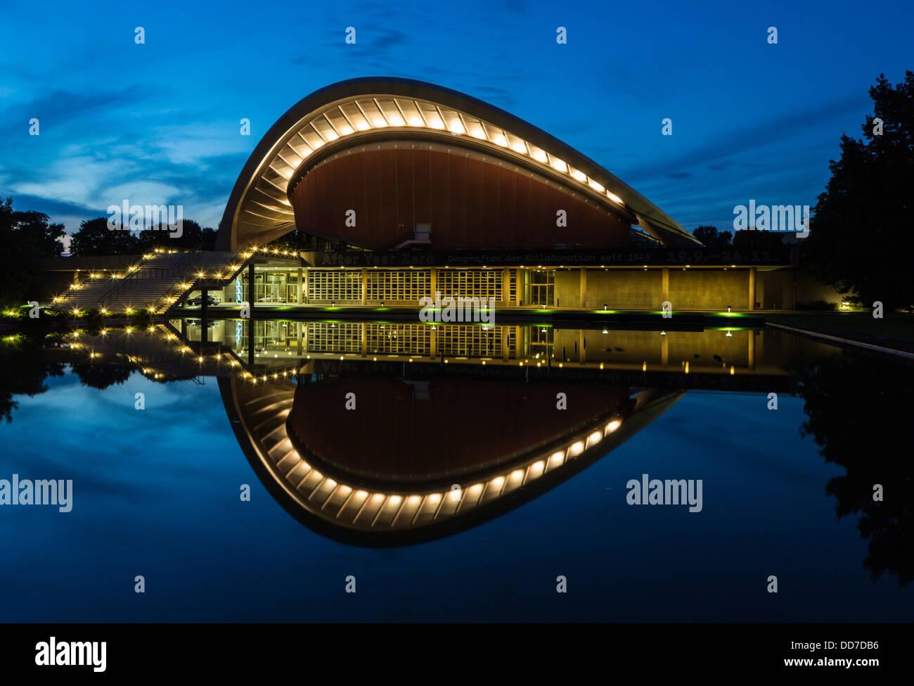 Haus der Kulturen der Welt - Stock Image
